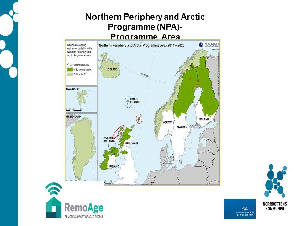 Northern Periphery and Arctic Programme (NPA)- Programme Area