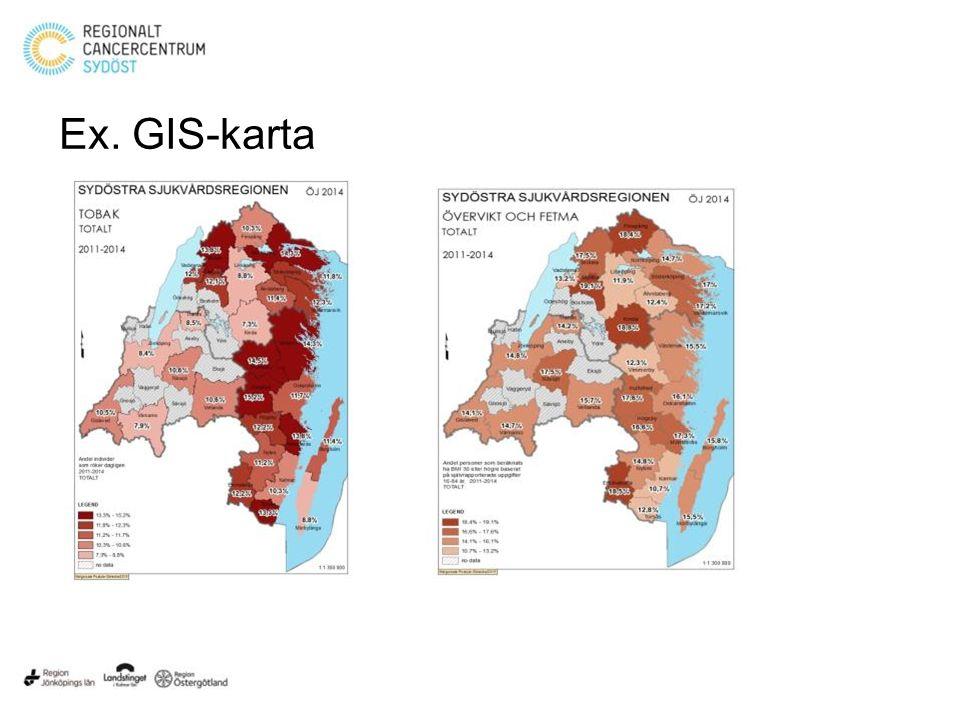 Ex. GIS-karta