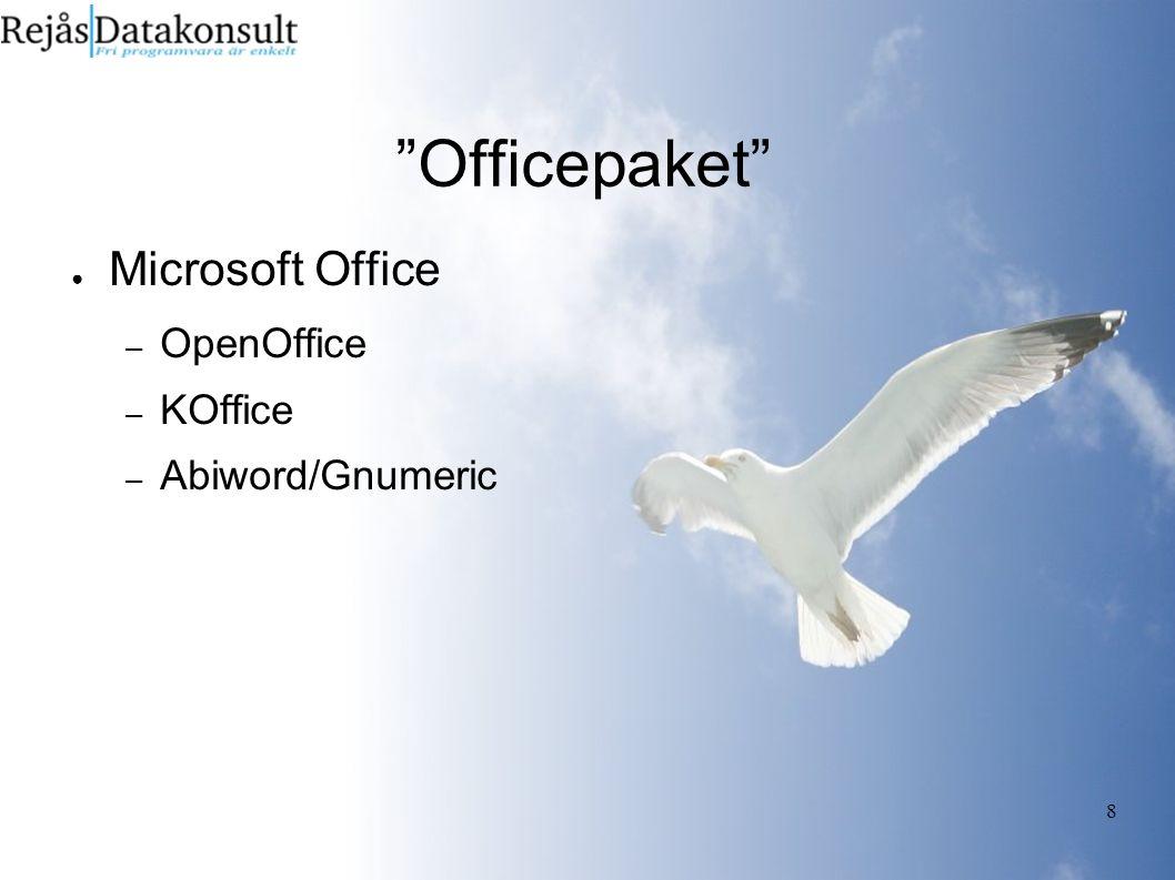 9 E-post ● Outlook (express) – Thunderbird – KMail – Evolution