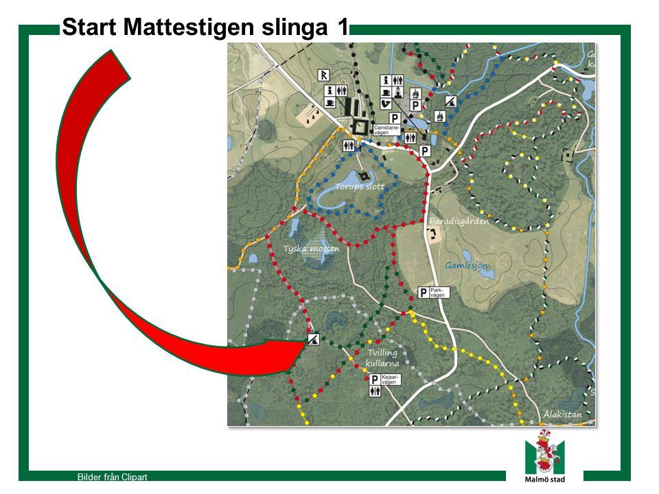 Start Mattestigen slinga 1 Bilder från Clipart