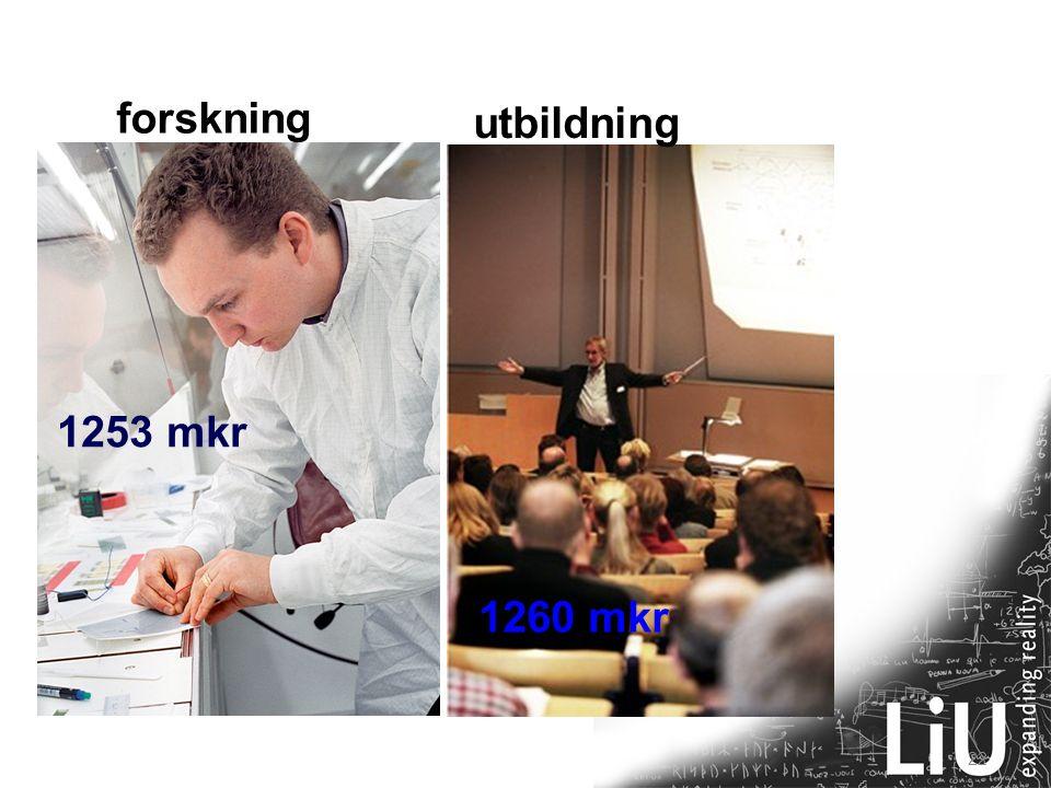 22 1253 mkr 1260 mkr 2005 forskning utbildning