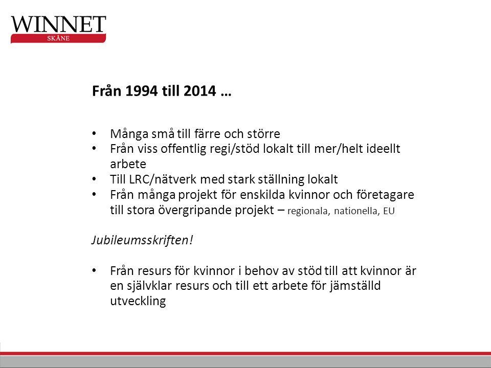 Diskussionsforum i Landskrona (i oktober) och Kristianstad (i november), där vi lyft jämställdhetskartornas resultat.