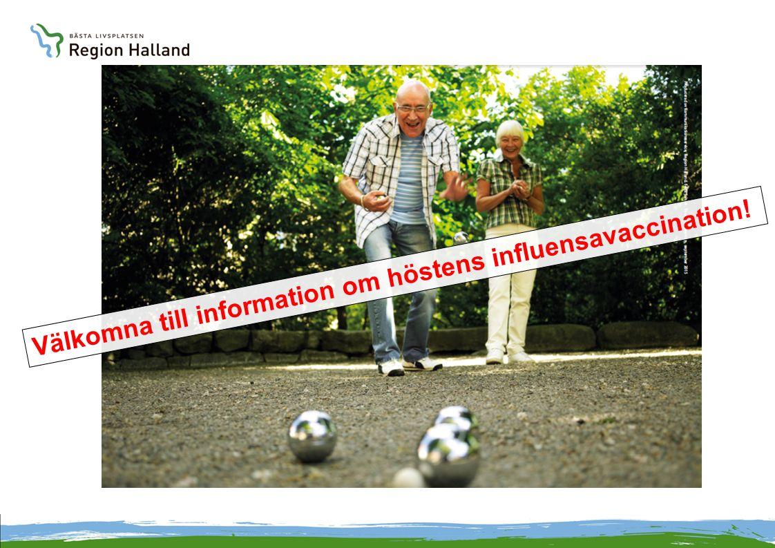 Välkomna till information om höstens influensavaccination!