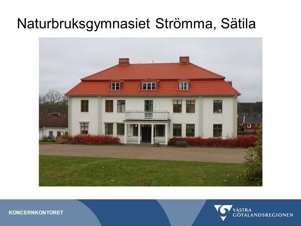 Naturbruksgymnasiet Strömma, Sätila KONCERNKONTORET