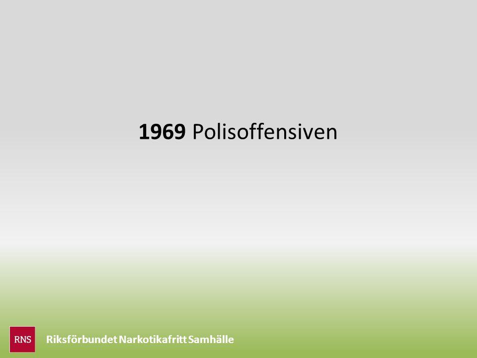 Riksförbundet Narkotikafritt Samhälle 1969 Polisoffensiven