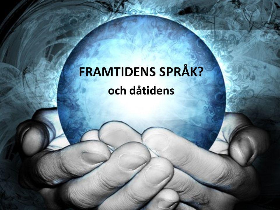 TOPP 5: STORA SPRÅK I VÄRLDEN 1.