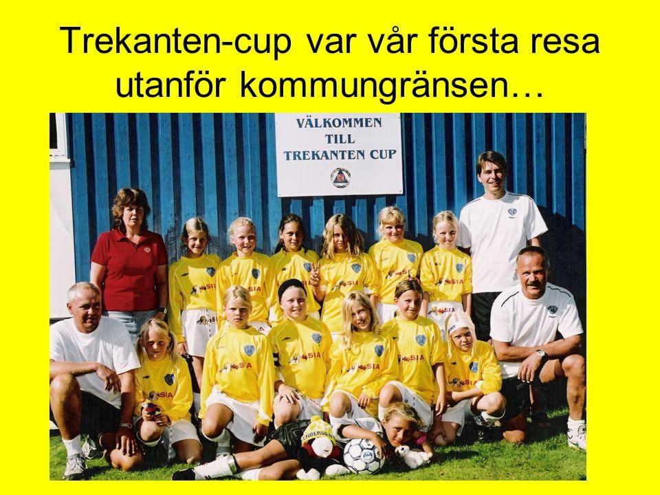 Trekanten-cup var vår första resa utanför kommungränsen…