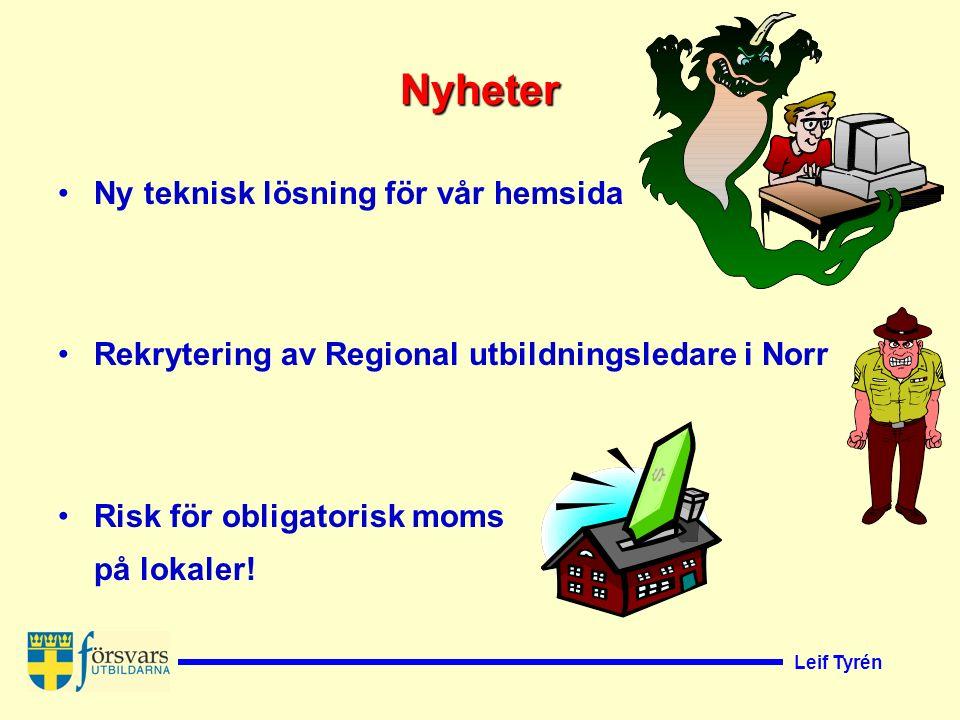 Leif Tyrén Svenska Försvarsutbildningsförbundet Sveriges Landstormsföreningars Centralförbund bildat 1912