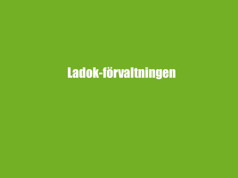 Ladok-förvaltningen