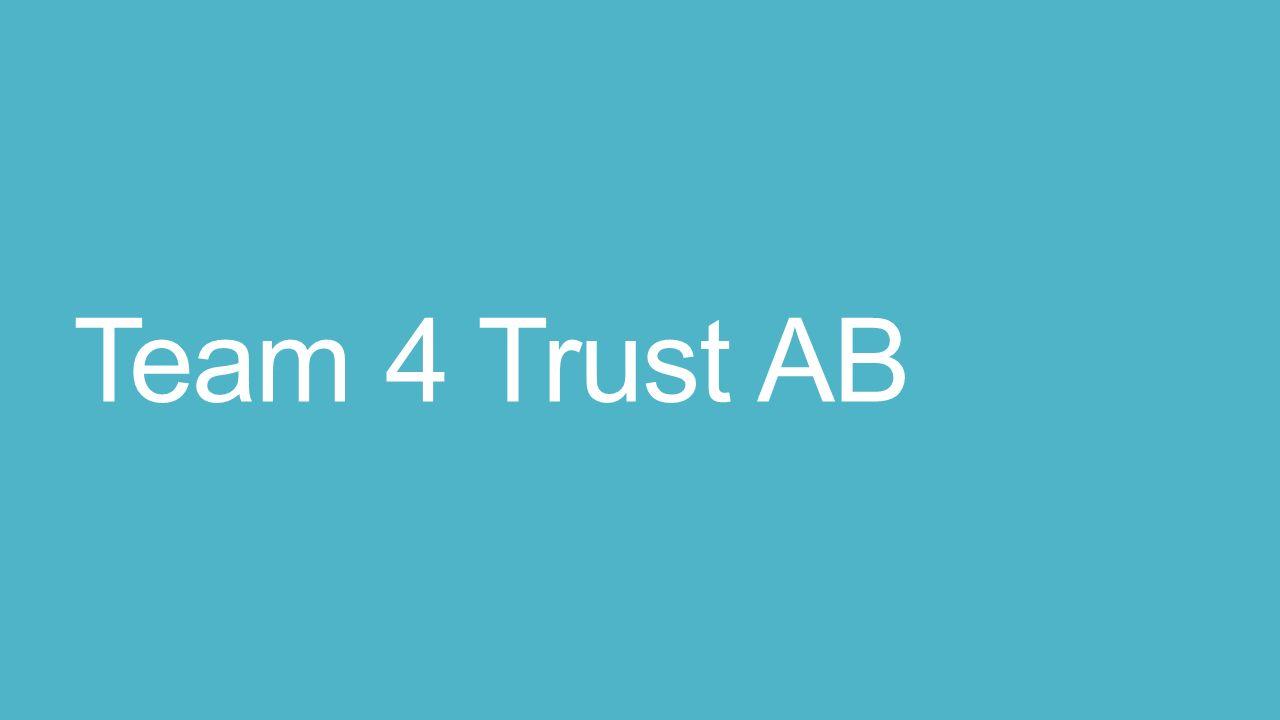 Team 4 Trust AB