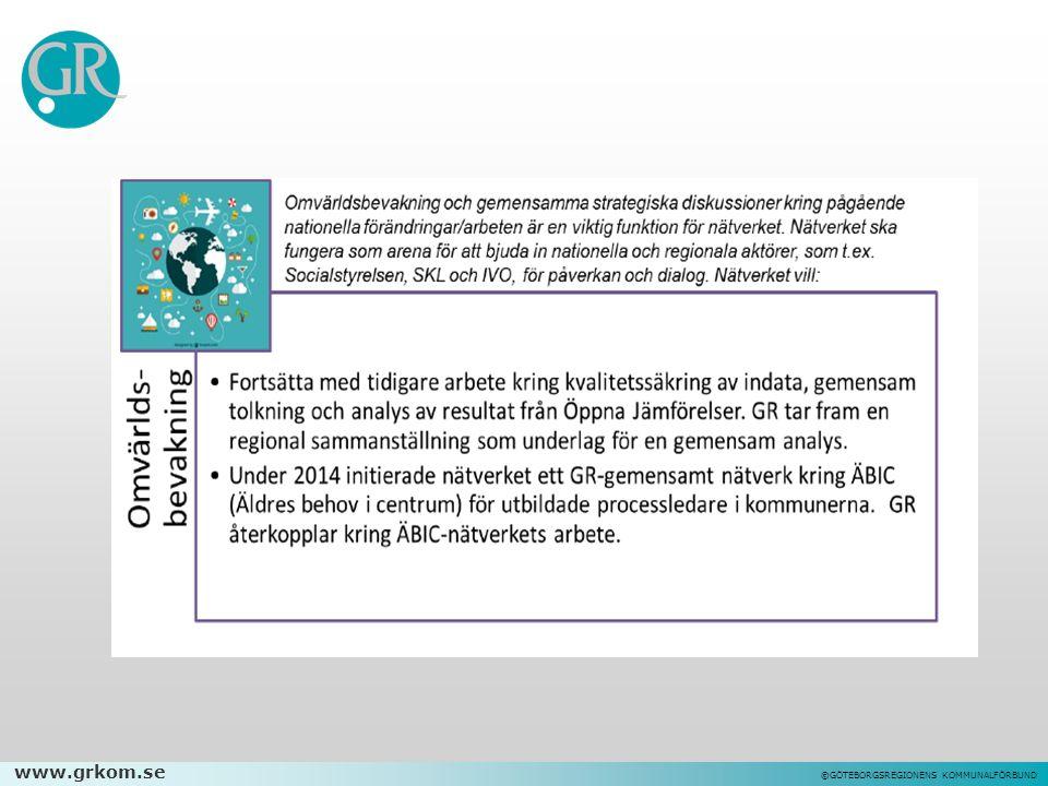 www.grkom.se ©GÖTEBORGSREGIONENS KOMMUNALFÖRBUND