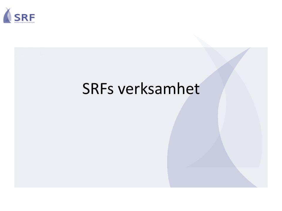 SRFs verksamhet