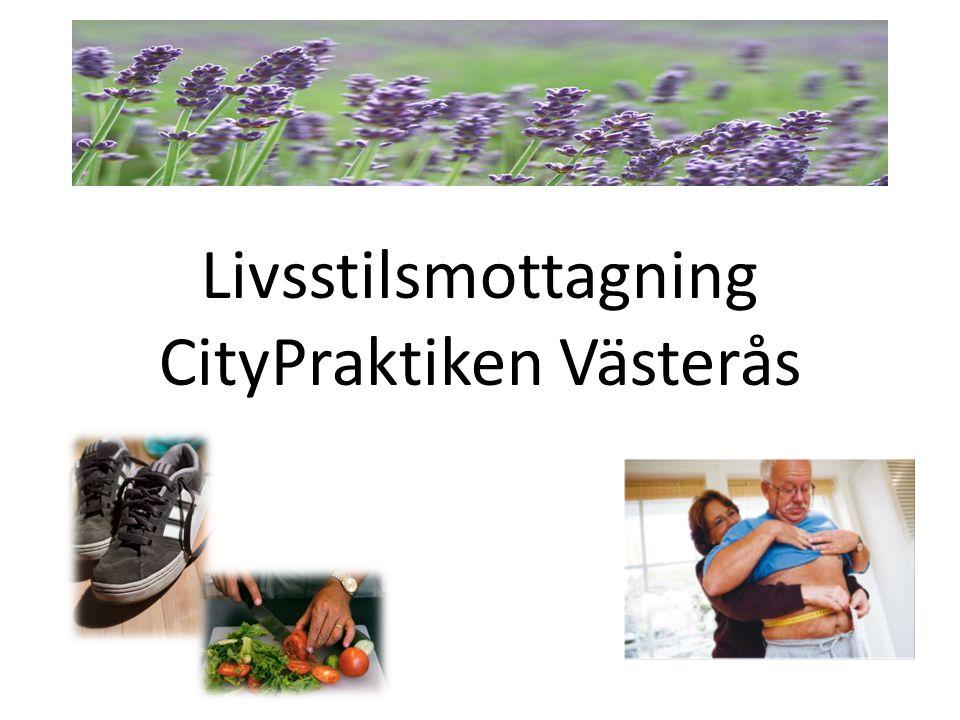 Livsstilsmottagning CityPraktiken Västerås