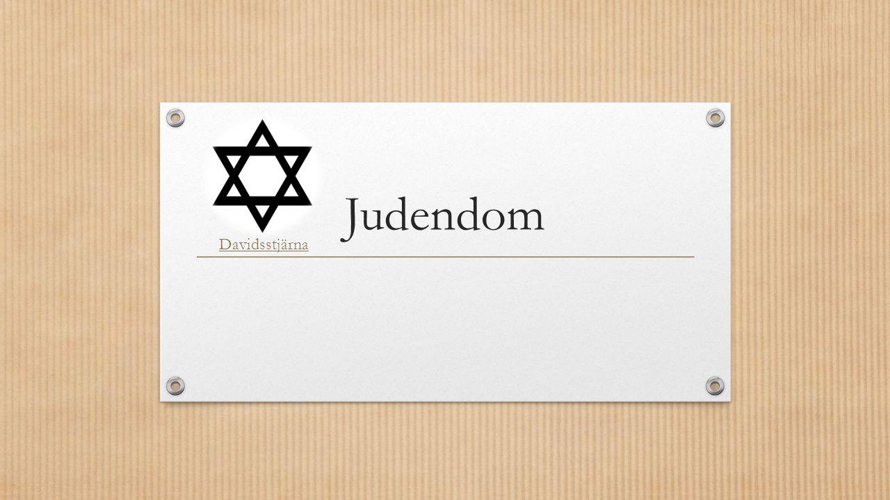 Judendom Davidsstjärna