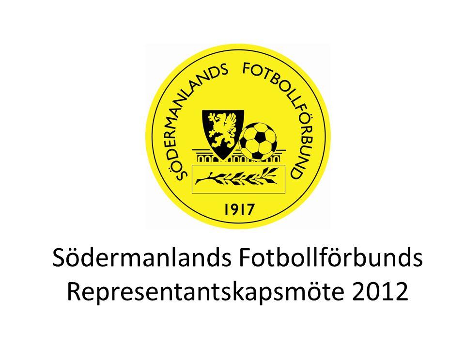 Södermanlands Fotbollförbunds Representantskapsmöte 2012