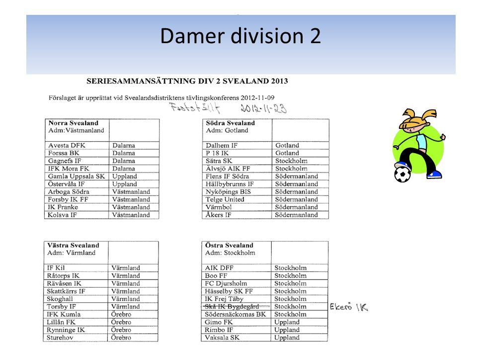 Damer division 2