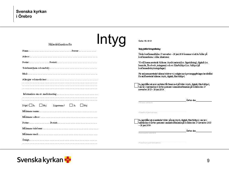 Intyg 9
