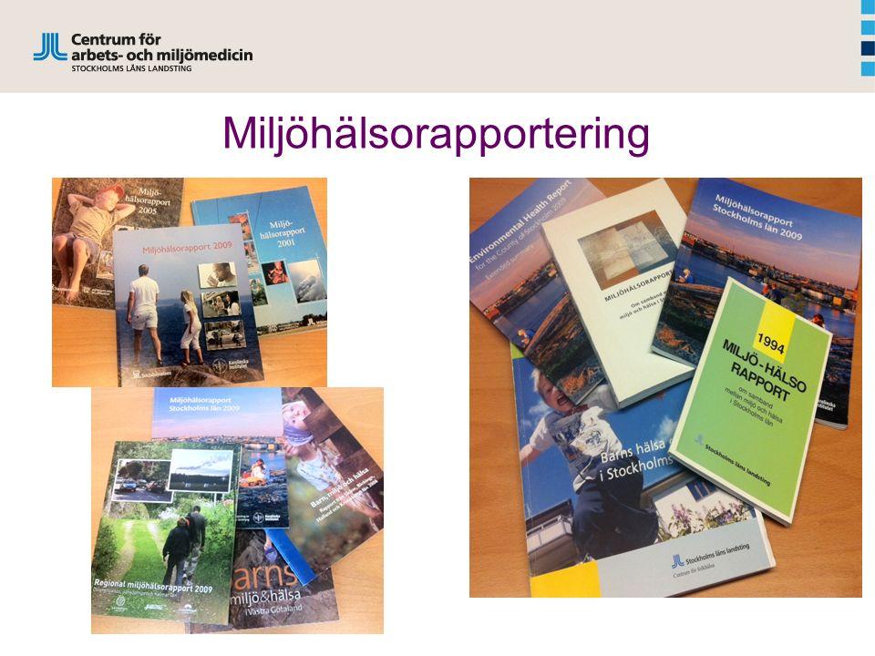 Miljöhälsorapportering