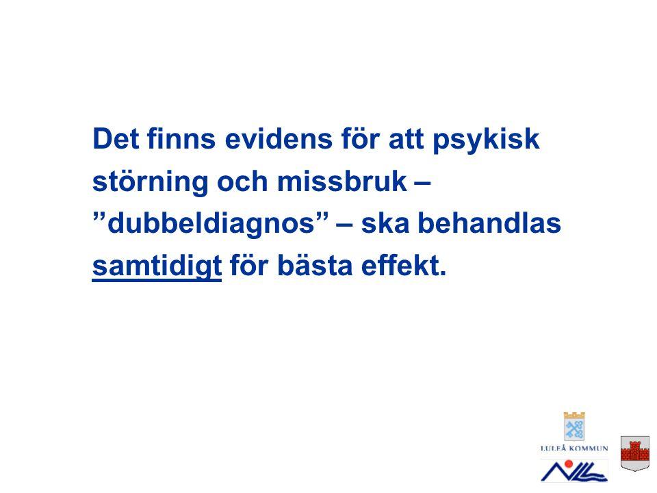 Moderorganisationerna Socialtjänsten Vuxenpsykiatrin Primärvården I Norrbotten finns ett avtal mellan moderorganisationerna som klargör huvudmännens ansvarstagande.
