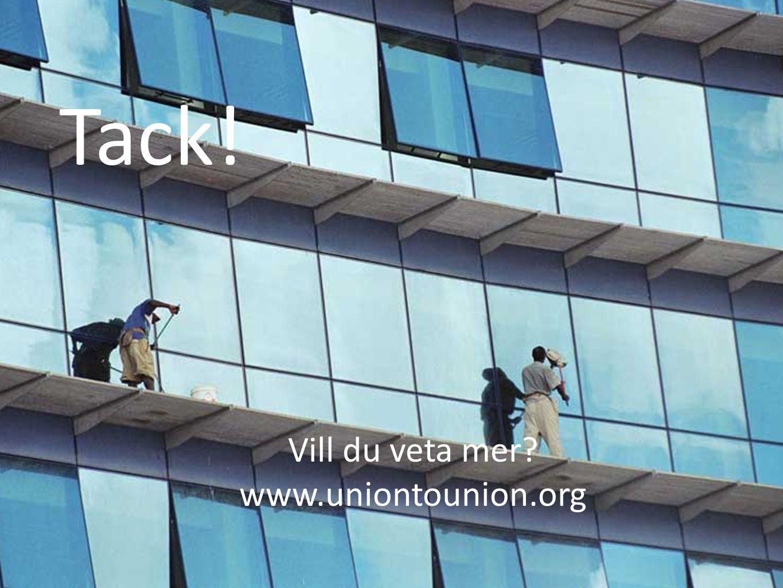 Tack! Vill du veta mer www.uniontounion.org