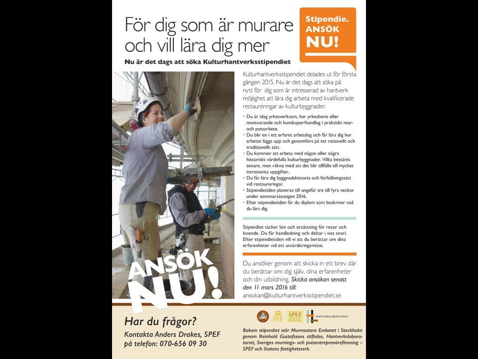 Fasadrestaurering av Residenset i Umeå Etapp 1, 2 och 3 Per-Anders Johansson, Statens fastighetsverk