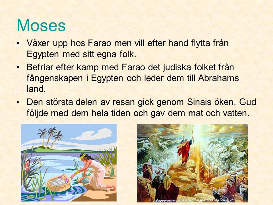 Josef Abrahams barnbarnsbarn som säljs av sina avundsjuka bröder till Egyptiska köpmän.