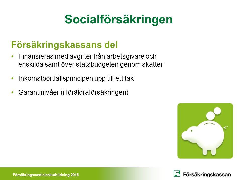 Försäkringsmedicinskutbildning 2015 Vem ansvarar för vad.