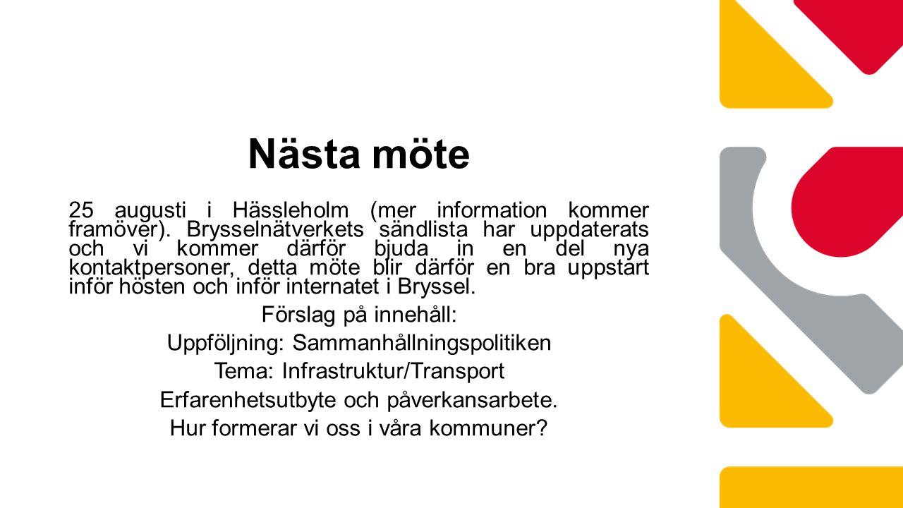 25 augusti i Hässleholm (mer information kommer framöver).