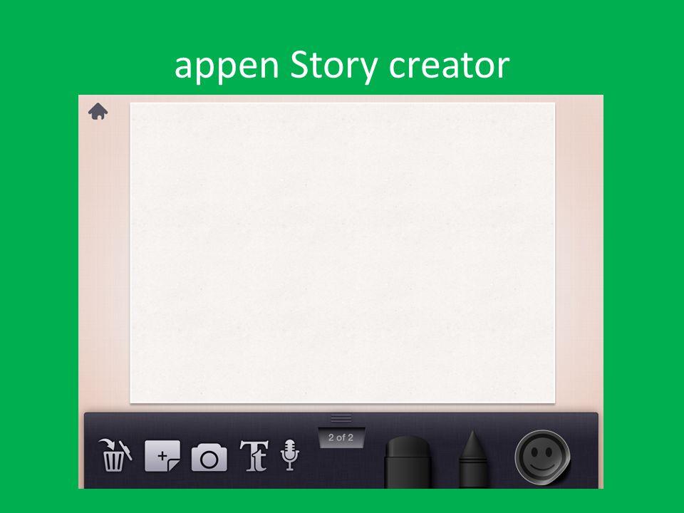 appen Story creator
