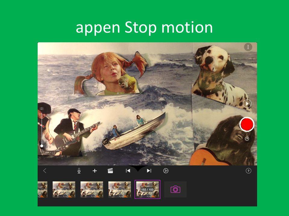 appen Stop motion