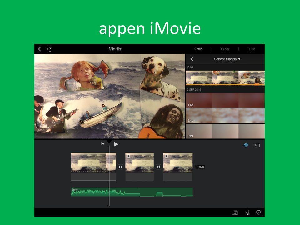 appen iMovie