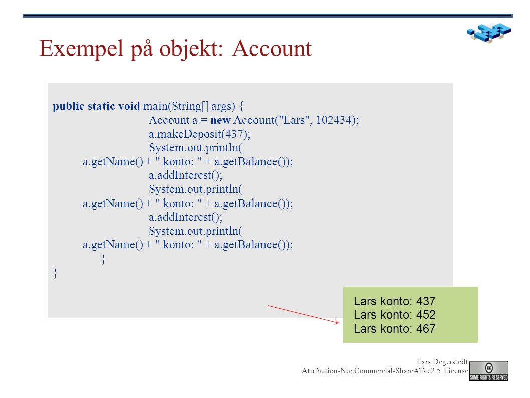 Lars Degerstedt Attribution-NonCommercial-ShareAlike2.5 License Reguljära uttryck - regexp mönster (eng pattern) att matcha mot strängar (input) arbeta med ostrukturerad data: rå text syntax varierar men liknande i många språk Perl, Emacs, awk, grep, Java etc för sökning och substitution larde@~/prj: ls | grep C.*Q CareQuest CQ_miand.tgz CQ-OLD-WORKS