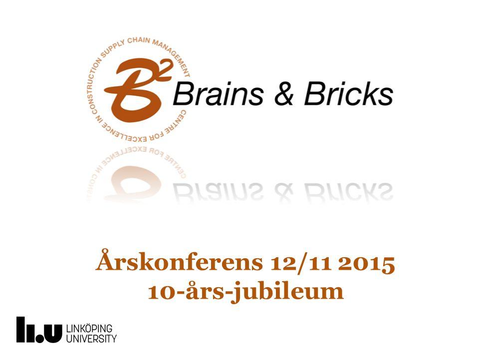 Årskonferens 12/11 2015 10-års-jubileum