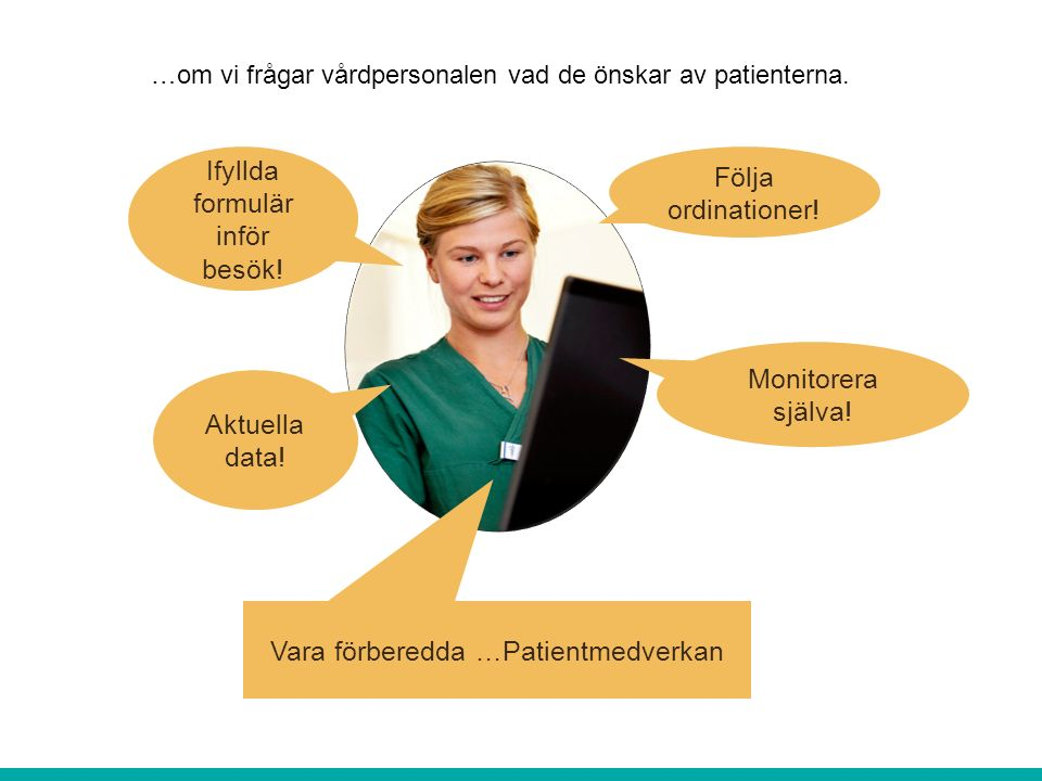 Livskvalite och medverkan Blodtryck, Puls Vikt, Puls, BMI, Koldioxidhalt i rum Puls, Syresättning, Perfusionsindex (PI) Exploderande tjänsteutbud.