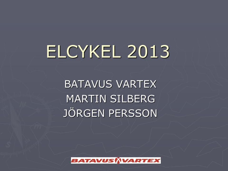 ELCYKEL 2013 BATAVUS VARTEX MARTIN SILBERG JÖRGEN PERSSON
