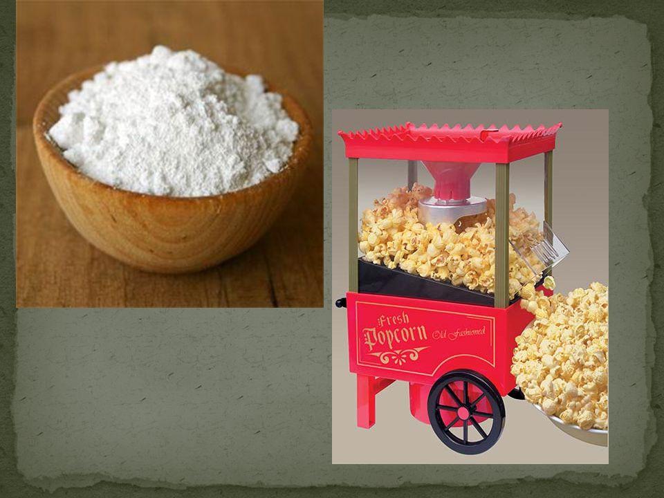 Finns bl.a. i potatis och säd Kan användas vid tillverkning av lim och papper