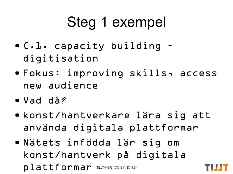 Steg 1 exempel C.1.
