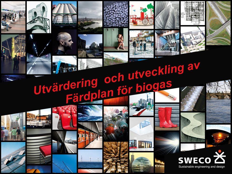 1 Utvärdering och utveckling av Färdplan för biogas