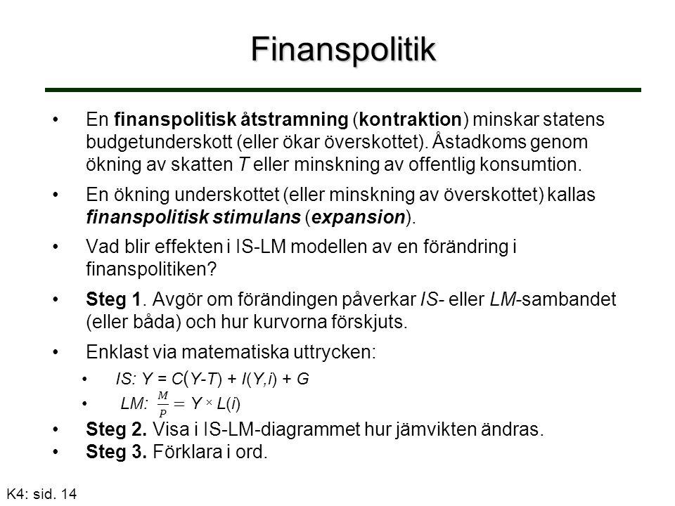 Finanspolitik K4: sid. 14