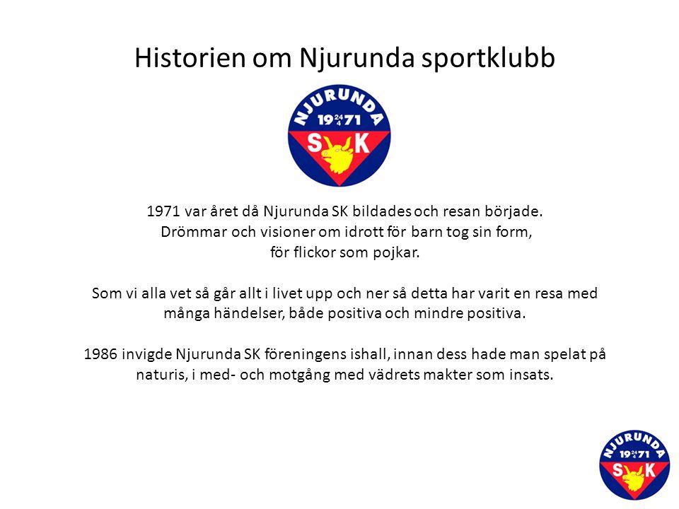 Njurunda SK - Lagblomma Lag XX LagledareHuvudtränareAss.