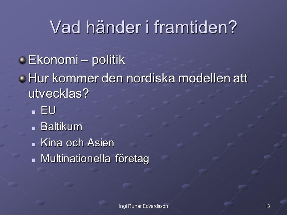 13Ingi Runar Edvardsson Vad händer i framtiden.