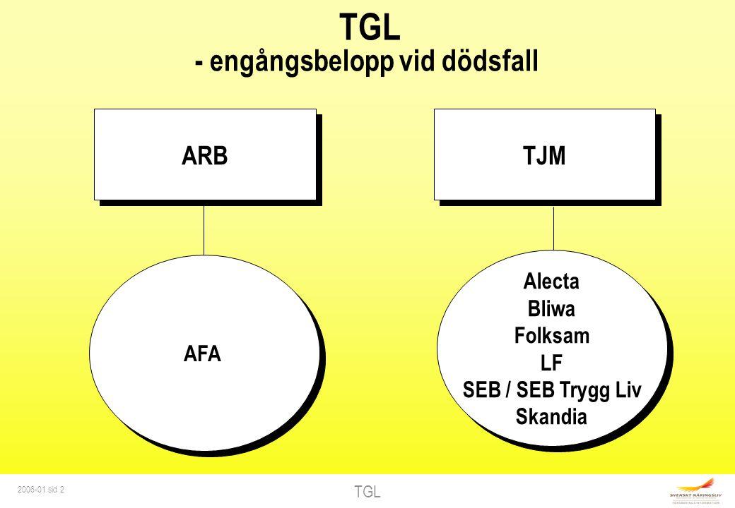 TGL 2006-01 sid 3 UNDER ANSTÄLLNING Undantag Militär grundutbildning Vid tjänstledighet gäller speciella regler ARB 8 tim/vecka Ålderspension