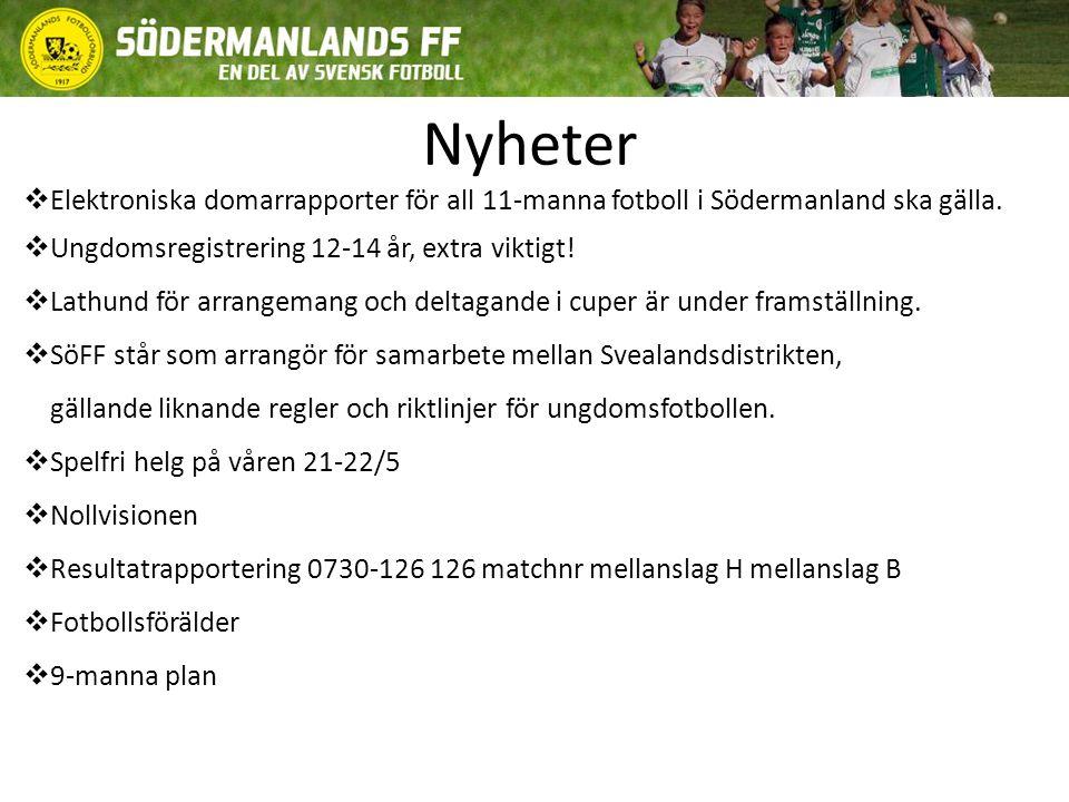 Södermanlands FF/Ungdomskommitté ser fram emot att löpande under året få ta del av era tankar, synpunkter och idéer som utvecklar och inspirerar ungdomsfotbollen.