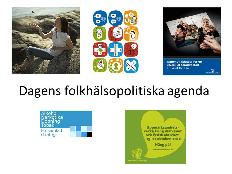 Dagens folkhälsopolitiska agenda