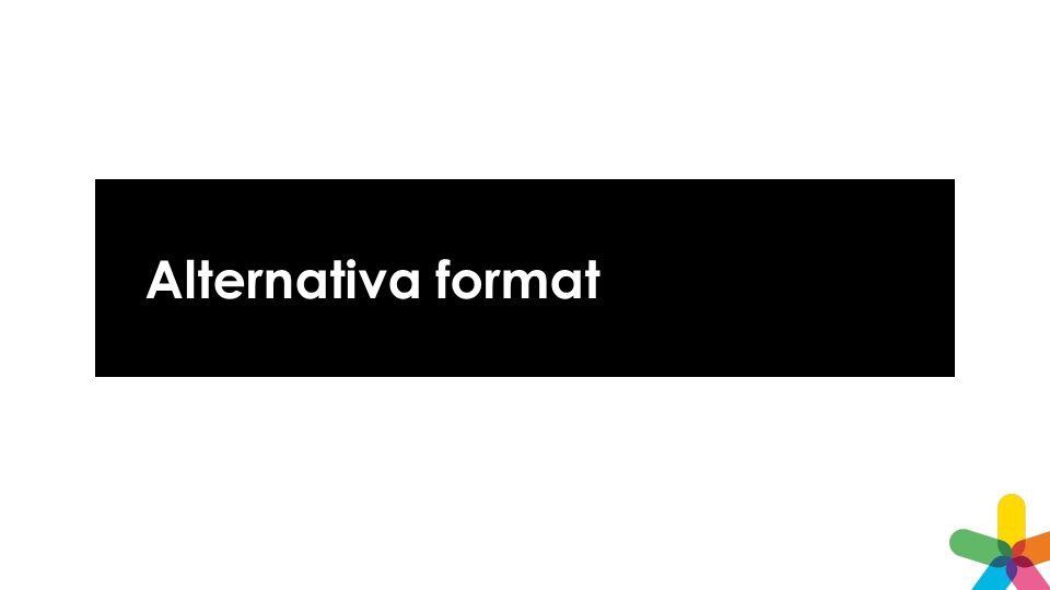Alternativa format