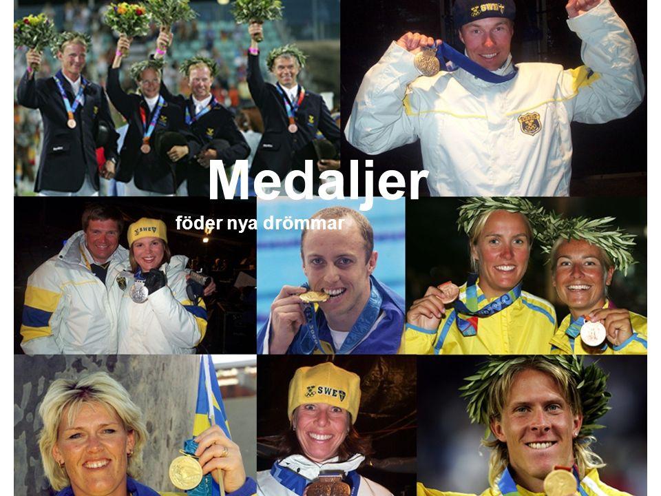 Medaljer föder nya drömmar