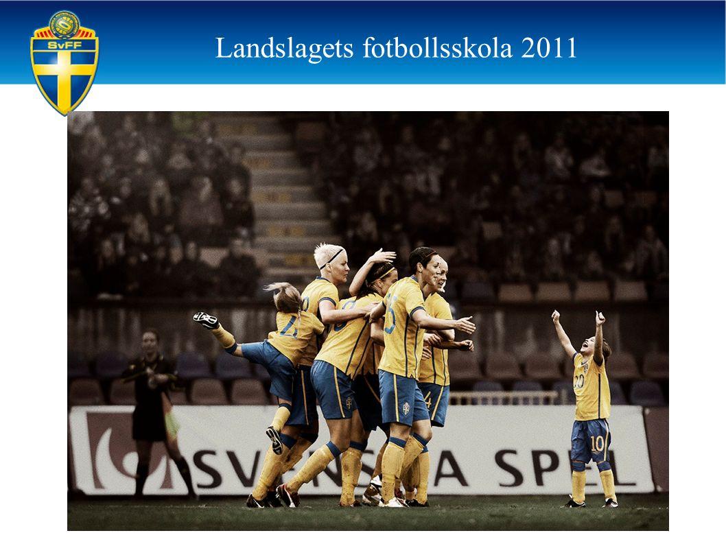 Landslagets fotbollsskola 2011