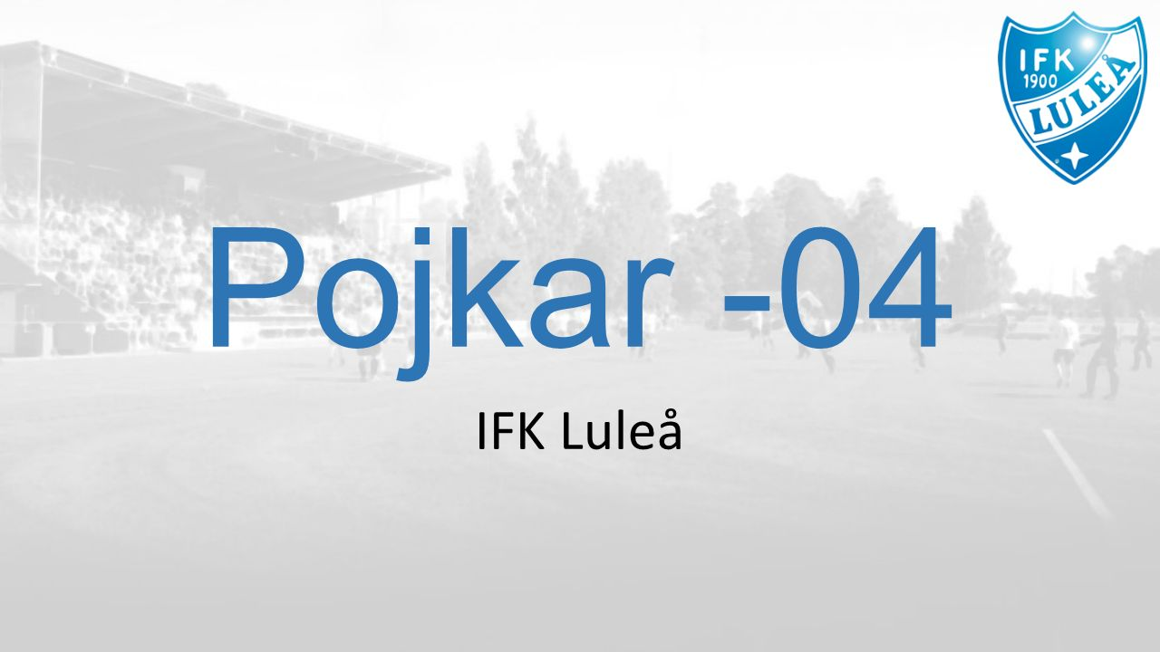 Pojkar -04 IFK Luleå