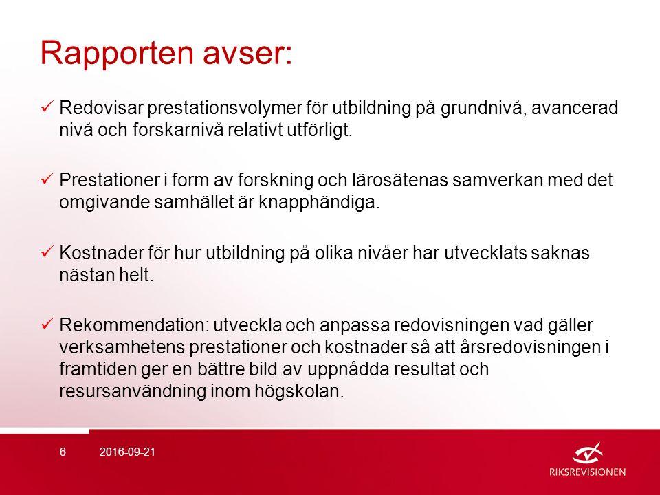 Förordning om intern styrning och kontroll  2008: totalt: omfattade 56 myndigheter varav 25 erhöll en revisionsrapport och 1 erhöll en invändning.