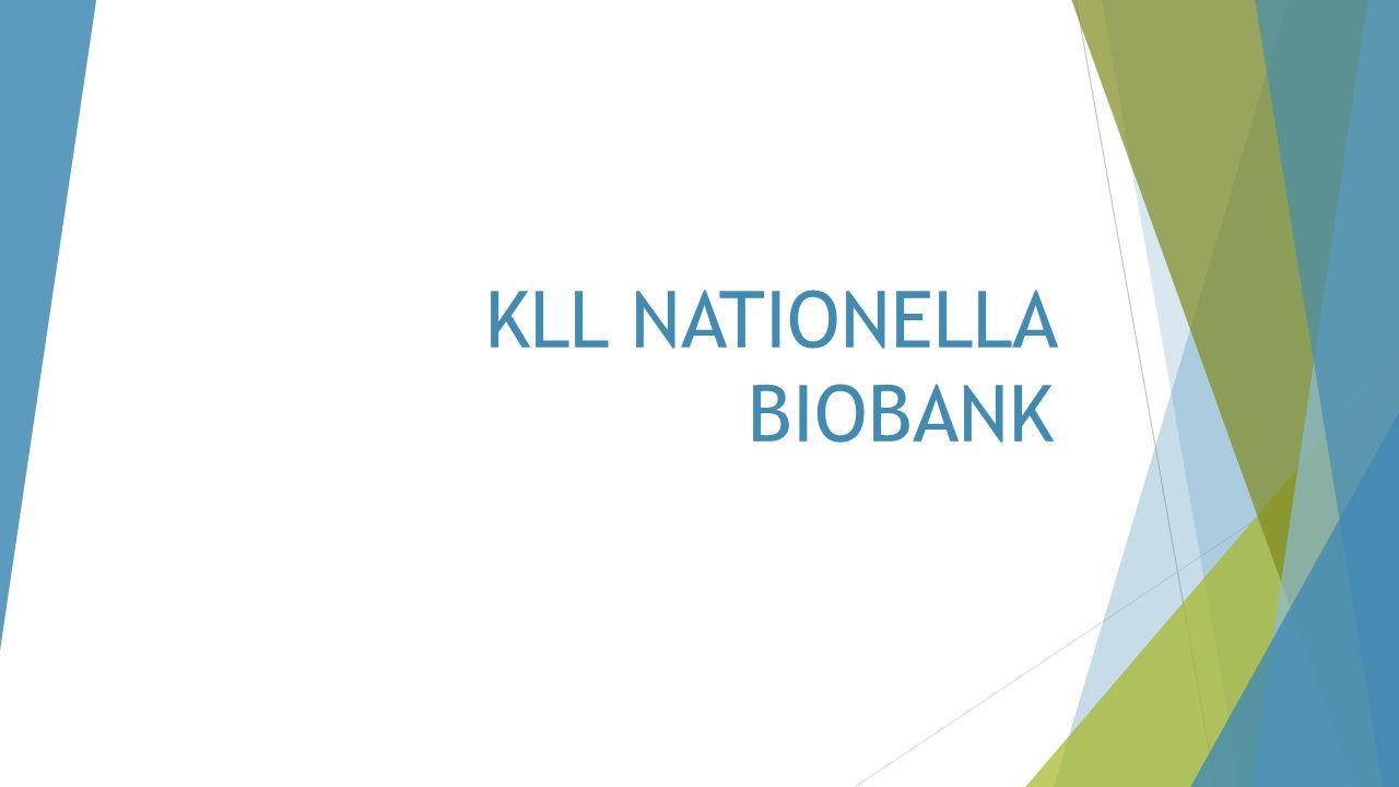 KLL NATIONELLA BIOBANK
